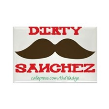 Dirty Sanchez - The Vadge Rectangle Magnet