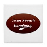 Team Lapphund Tile Coaster