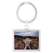 Large Hoover Dam Landscape Keychain