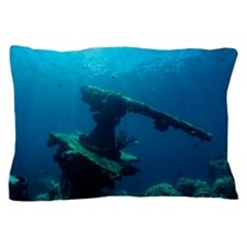 Sunken gun Pillow Case