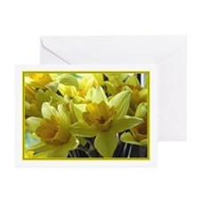 ...Daffodils 01... Note Cards (Pk of 10)