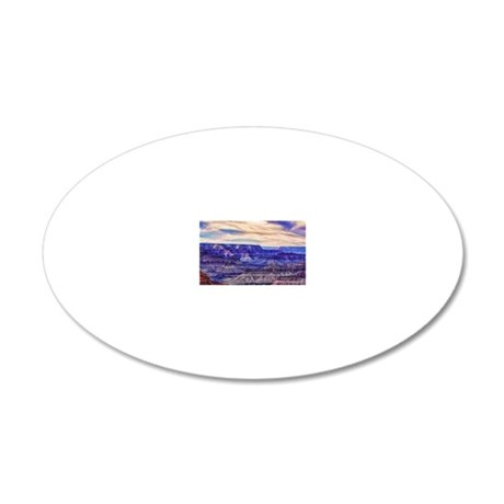 grand canyon 20x12 Oval Wall Decal