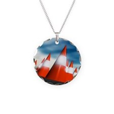 Traffic cones Necklace