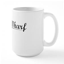 Davis Wharf, Vintage Mug