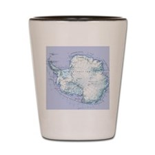 Digital illustration of Antarctica Shot Glass