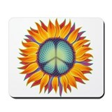 Peace Flower Mousepad