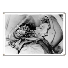 Valentina Tereshkova, female cosmonaut Banner