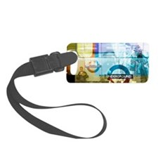 Underground trains Luggage Tag