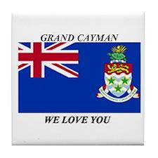 Grand Cayman Tile Coaster