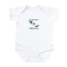 Cozumel, Mexico Infant Bodysuit