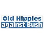 Old Hippies Against Bush Bumper Sticker