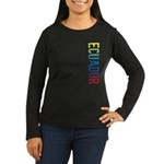 Ecuador Women's Long Sleeve Dark T-Shirt