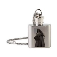 Giordano Bruno, Italian philosopher Flask Necklace