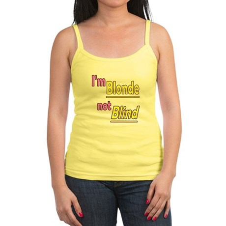 Blonde not Blind Jr. Spaghetti Tank
