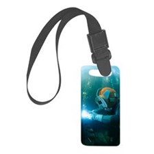 Welding underwater Luggage Tag