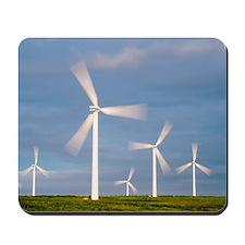 Wind farm, Scotland Mousepad