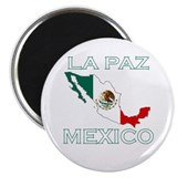 La Paz, Mexico 2.25&quot; Magnet (100 pack)