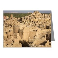Siwa Town, Siwa Oasis, Egypt Note Cards (Pk of 20)