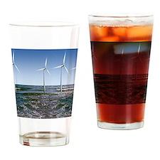 Wind turbines Drinking Glass