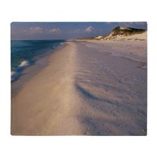 High angle view of a beach, St. Jose Throw Blanket