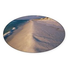 High angle view of a beach, St. Jos Decal