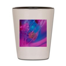Globe with fiber-optic cable Shot Glass