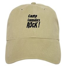 Camp Counselors Rock ! Baseball Cap