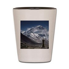 Everest monastery Shot Glass