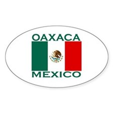Oaxaca, Mexico Oval Decal