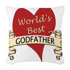 GodFather Woven Throw Pillow