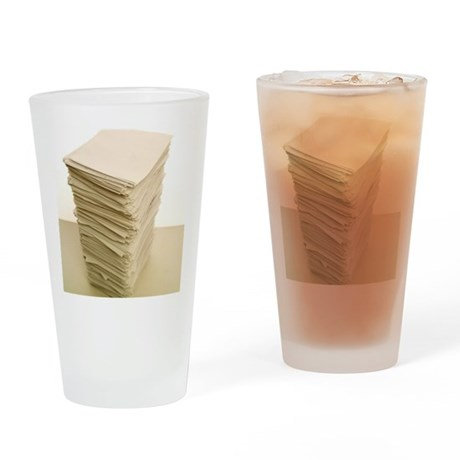 Stack of papers Drinking Glass