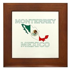Monterrey, Mexico Framed Tile