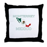 Monterrey, Mexico Throw Pillow