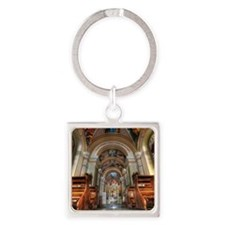 Tekij Church Square Keychain