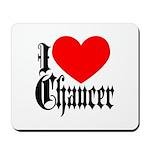 I Love Chaucer Mousepad