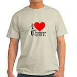 I Love Chaucer Light T-Shirt