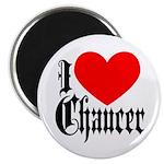 I Love Chaucer Magnet