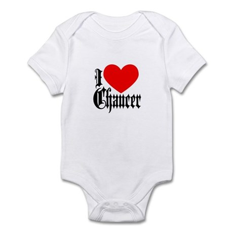 I Love Chaucer Infant Bodysuit