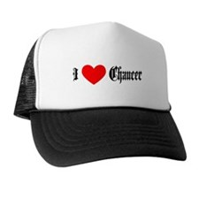 I Love Chaucer Trucker Hat