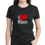 I Love Chaucer Women's Dark T-Shirt