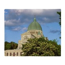 St Josephs Oratory in Quebec, Canada Throw Blanket