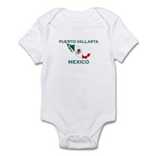 Puerto Vallarta, Mexico Infant Bodysuit