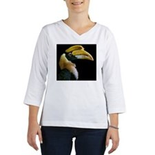 Great Indian Hornbill Women's Long Sleeve Shirt (3/4 Sleeve)