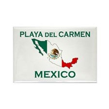 Playa Del Carmen, Mexico Rectangle Magnet (100 pac