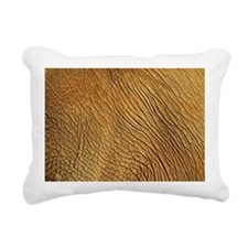 Skin of adult elephant s Rectangular Canvas Pillow