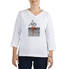 Cable leg abduction Women's Long Sleeve Shirt (3/4 Sleeve)