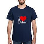 I Love Dickens Dark T-Shirt