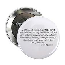 Washington: A Free People Button