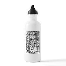 Hermes Trismegistus, C Water Bottle