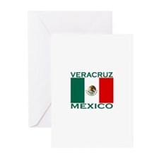 Veracruz, Mexico Greeting Cards (Pk of 10)